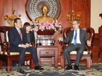 Tập đoàn Lotte đề xuất nhiều kế hoạch, dự án hợp tác với TP.HCM