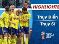 HIGHLIGHTS: Thuỵ Điển 1-0 Thuỵ Sĩ (Vòng 1/8 FIFA World Cup™ 2018)