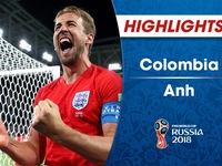 HIGHLIGHTS: ĐT Colombia 1-1 (3-4 pen) ĐT Anh (Vòng 1/8 FIFA World Cup™ 2018)