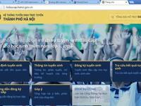 Hà Nội: Gần 87 số chỉ tiêu tuyển sinh trực tuyến vào lớp 1 đăng ký thành công