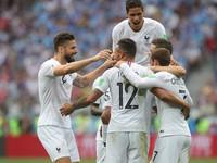 KẾT QUẢ Tứ kết FIFA World Cup™ 2018: Thắng thuyết phục ĐT Uruguay, ĐT Pháp tiến vào bán kết!