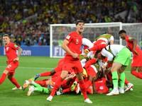 Lịch thi đấu và tường thuật trực tiếp tứ kết FIFA World Cup™ 2018 ngày 7/7, rạng sáng 8/7: Thụy Điển - Anh, Nga - Croatia