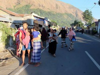 Multiple quakes rock Indonesia's Lombok island