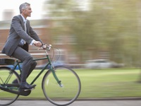 Người bận rộn sử dụng xe đạp: Tốt cho sức khỏe, giảm stress