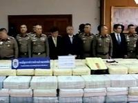 Cảnh sát Thái Lan bắt giữ lượng lớn ma túy