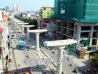 Đường sắt đô thị Nhổn - Ga Hà Nội dự kiến khai thác 8,5km từ năm 2020