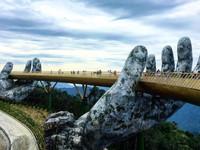 Ấn tượng Cầu Vàng - Cầu đi bộ đẹp nhất thế giới