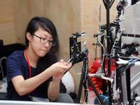 ABU Robocon 2018: Ngày đầu của các đội tuyển tại khu tập kết robot