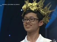 Nguyễn Hữu Quang Nhật đầy tự tin bước vào vòng Chung kết Olympia năm thứ 18