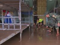Bộ đội Biên phòng Sơn La giúp dân khắc phục hậu quả mưa lũ
