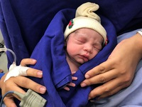 First baby born via uterus transplant