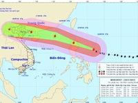 Siêu bão Mangkhut gây mưa rất to cho Bắc Bộ và Bắc Trung Bộ từ 17/9
