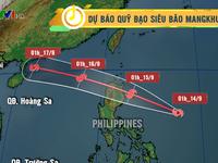 Siêu bão Mangkhut có khả năng ảnh hưởng trực tiếp đến đất liền nước ta
