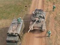 Nga tập trận đối phó với vũ khí hóa học