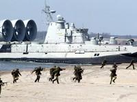 Hạm đội Baltic của Nga tập trận