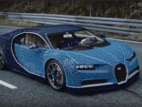 Siêu xe Bugatti lắp ráp từ 1 triệu mảnh ghép Lego
