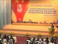 Yên Bái tổ chức Lễ tuyên dương tấm gương học tập làm theo lời Bác