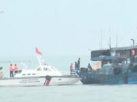 Cảnh sát biển phát hiện tàu chở 60.000 lít dầu DO trái phép