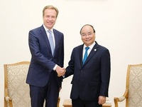PM receives WEF president