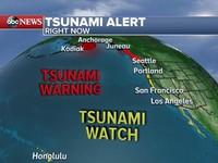 Động đất gây cảnh báo sóng thần ngoài khơi Alaska, Mỹ