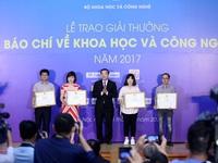 VTV won awards on science and technology journalism