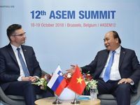 Prime Minister meets ASEM leaders