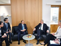 Prime Minister meets with European commission's president