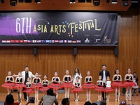 Silver medal for ballet at Asia arts festival