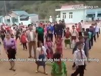 Tập thể dục giữa giờ bằng nhảy Cha cha cha