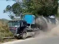 Cháy xe chở dầu ở Trung Quốc, 2 người thiệt mạng