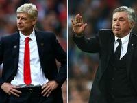 Chuyển nhượng bóng đá quốc tế ngày 10/01/2018: HLV Ancelotti muốn thay thế Wenger dẫn dắt Arsenal