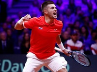Tennis: Coric, Cilic put Croatia in charge of Davis Cup final