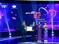 Viet Heart Foundation received the Labor Medal, third class