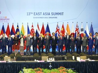 East Asia Summit held in Singapore