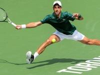 Djokovic advances in Toronto as del Potro withdraws