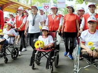 City: Over 5,000 walk for AO victims, people with disabilities