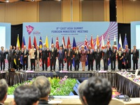 EAS Foreign Ministers Meeting agrees to reinforce marine cooperation