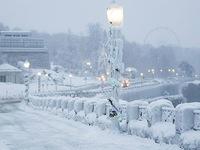 Giật mình trước chùm ảnh về mùa đông lạnh giá ở Bắc Mỹ