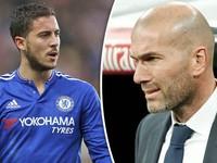 Chuyển nhượng bóng đá quốc tế ngày 01/01/2018: Real Madrid theo đuổi Hazard nhưng Zidane nói KHÔNG!