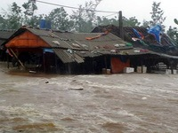 Severe damage in central provinces