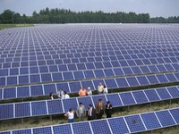 Vietnam aims high for wind and solar power development