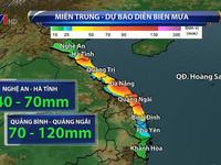 Heavy rain in Central region