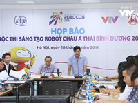 ABU Robocon 2018: The champion will show up on 26/8 in Ninh Binh