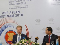 WEF ASEAN 2018 to start on Sep 11