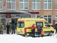 Tấn công bằng dao tại trường học ở Nga