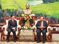 Vietnam, Laos ties strengthened