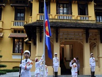 Flag-raising ceremony to mark ASEAN establishment