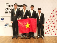 Vietnamese students win four medals at IOI 2018