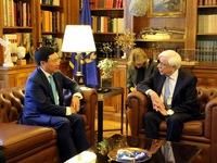 Vietnam, Greece strengthen ties