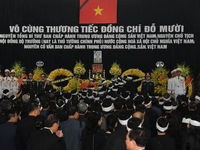 State memorial service held for former Party General Secretary Do Muoi